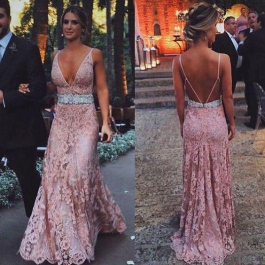 Blush Colored Dress
