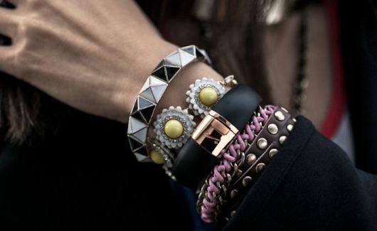 pulseiras para o street style