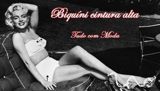 BIQUÍNI CINTURA ALTA / Hot Pants: 90 modelos super estilosos!