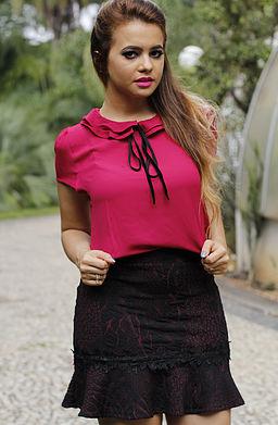 blusa gravatinha ideias para vestir