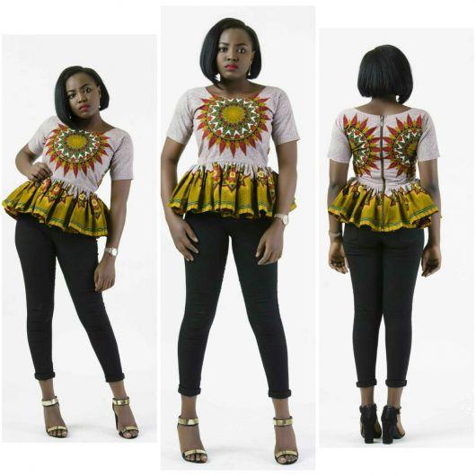 moda africana ideias para vestir