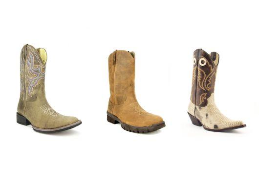 botas country masculinas estilos