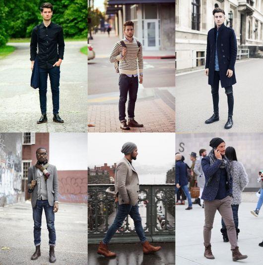 botas masculinas como usar