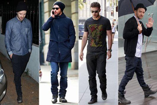 botas masculinas justin timberlake
