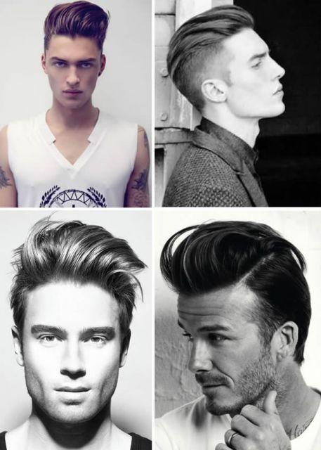cabelo do justin penteado 2014