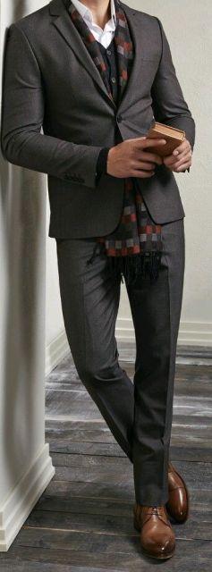 cachecol masculino 40