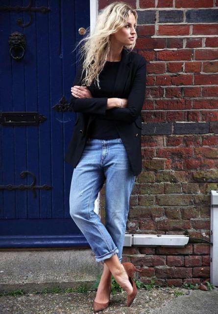 calça boyfriend calça jeans