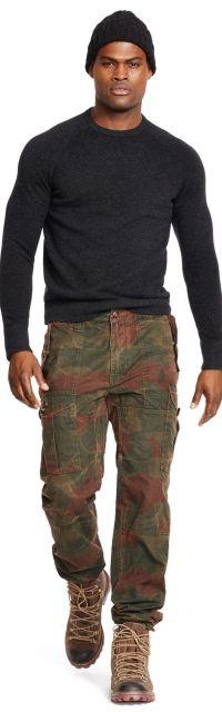 calça cargo masculina militar moderna