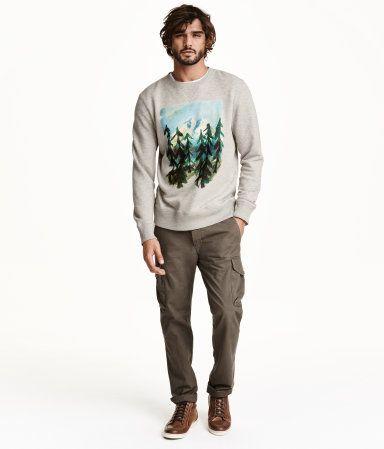 calça cargo masculina padrão