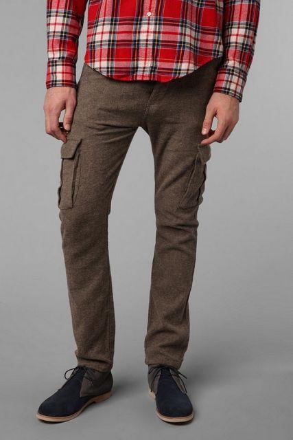 calça cargo masculina pano