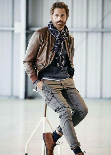 calça cargo sofisticada look