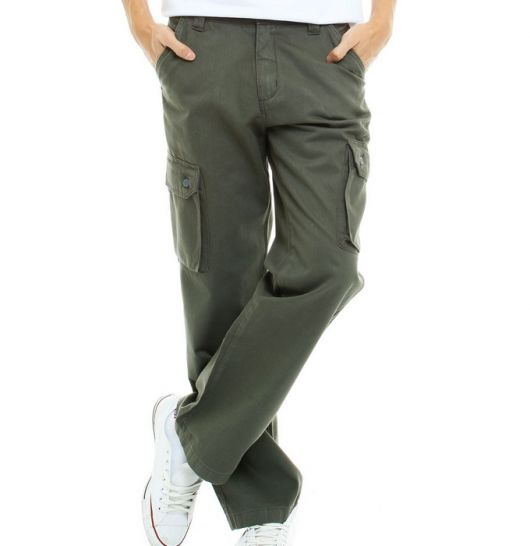 calça cargo verde