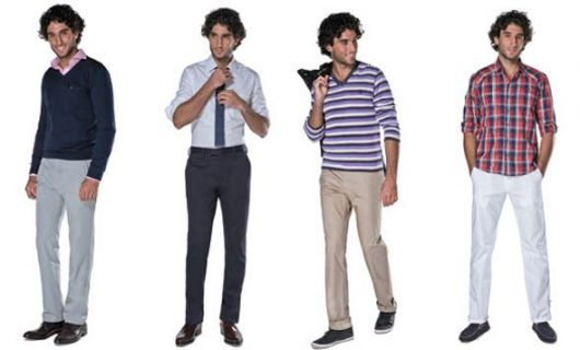 calça chino capa varios estilos