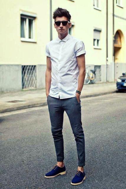 calça chino skinny