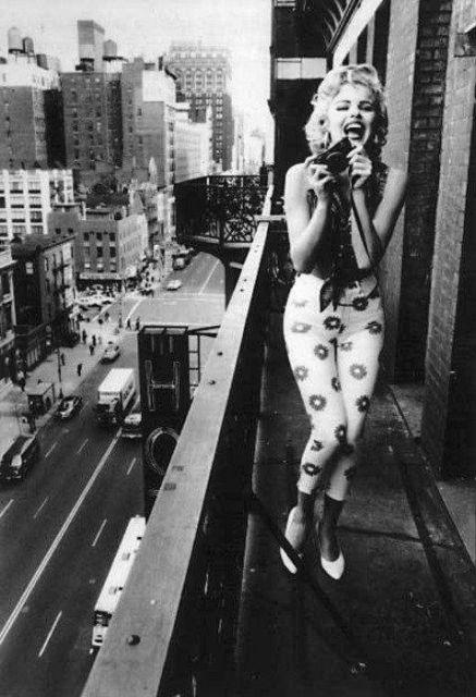 Marilyn de calça cigarrete