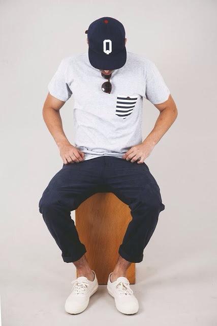 calça colorida masculina azul escuro