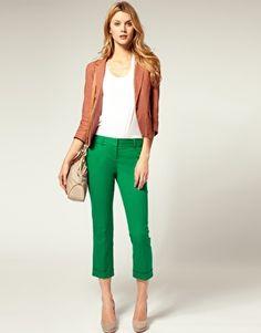 calça cropped como usar estilos