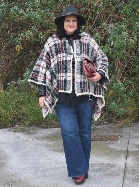 calça flare plus size jeans inverno