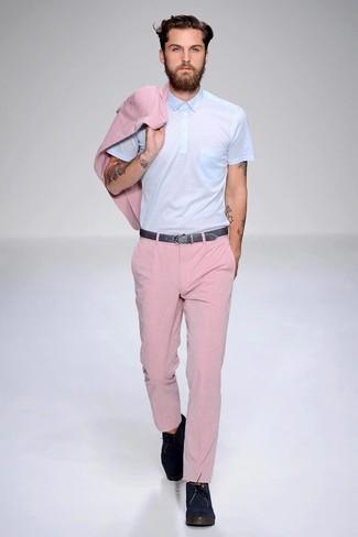calça masculina rosa