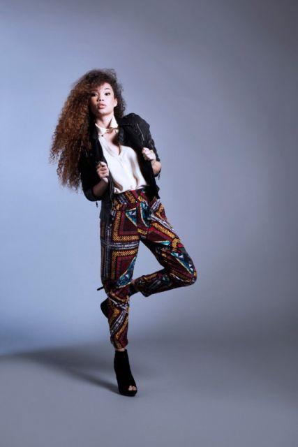moda africana em calças