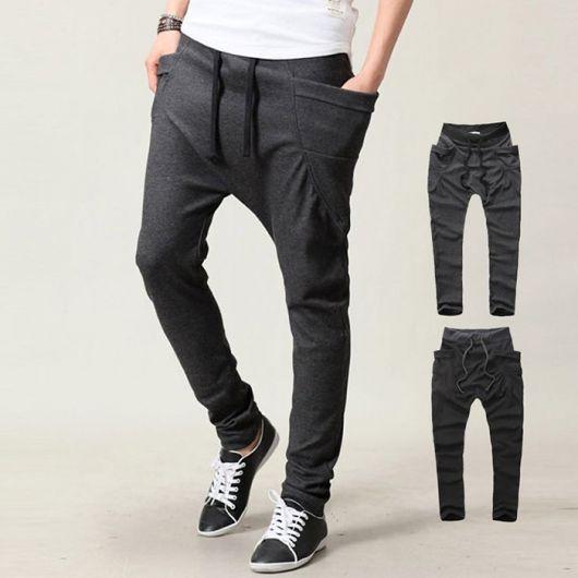 calça saruel masculina estilosos