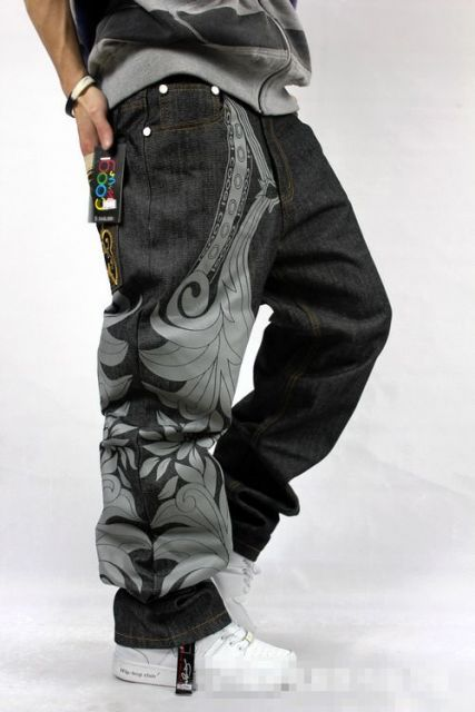 calça saruel masculina jeans larga