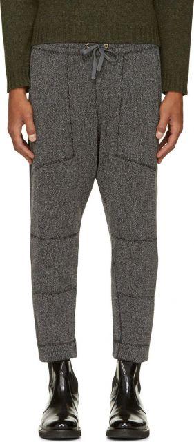 calça saruel masculina lã