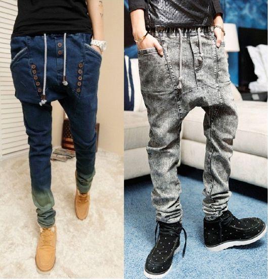 calça saruel masculina modelos jeans