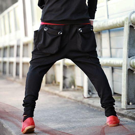 calça saruel masculina pernas abertas
