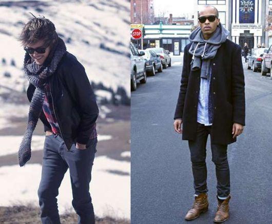 calça skinny masculina dias frios