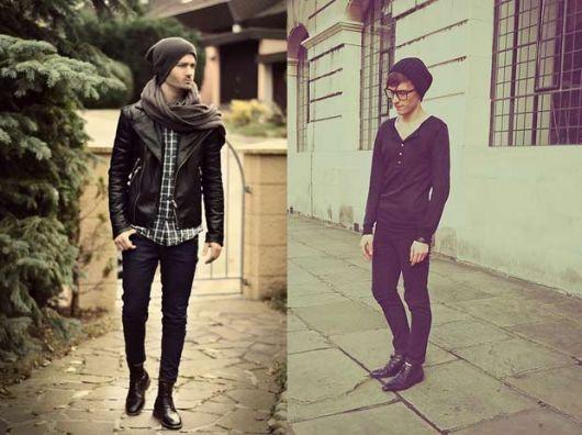 calça skinny masculina homens sofisticada formal