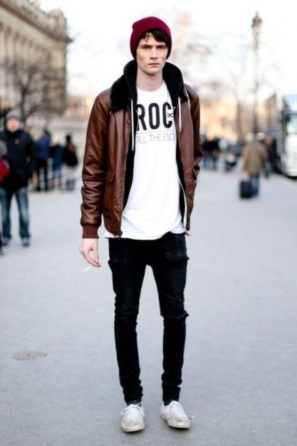 calça skinny masculina inverno