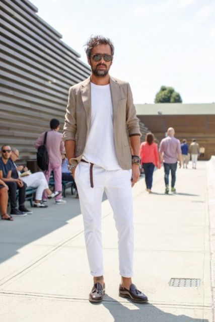 calça skinny masculina verão moderna