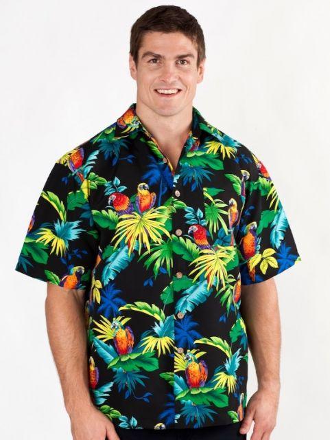 camisa havaiana desajustada