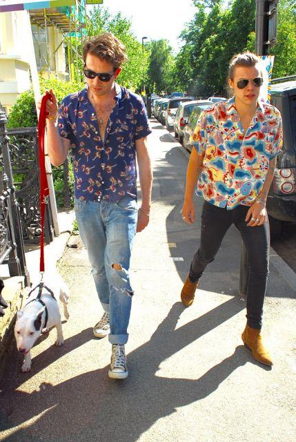camisa havaiana dia a dia casual
