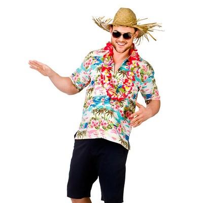 camisa havaiana para festa
