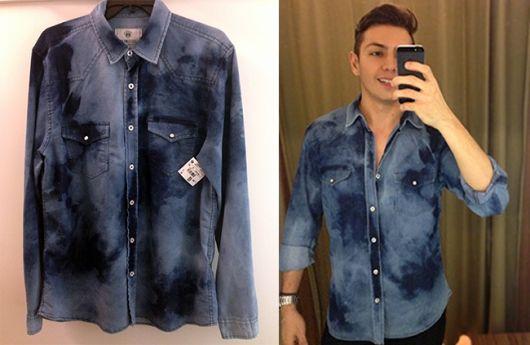 camisa riachuelo jeans