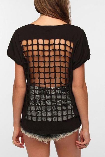 Camisetas customizadas  60 modelos e passo a passo! 8fa6daa63e18a