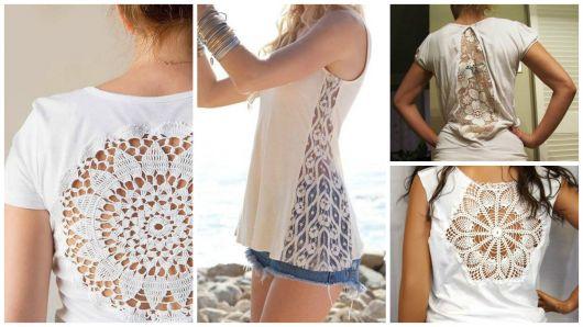 ac943ad92 Camisetas customizadas  60 modelos e passo a passo!