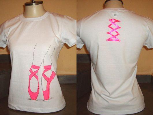 camiseta balé