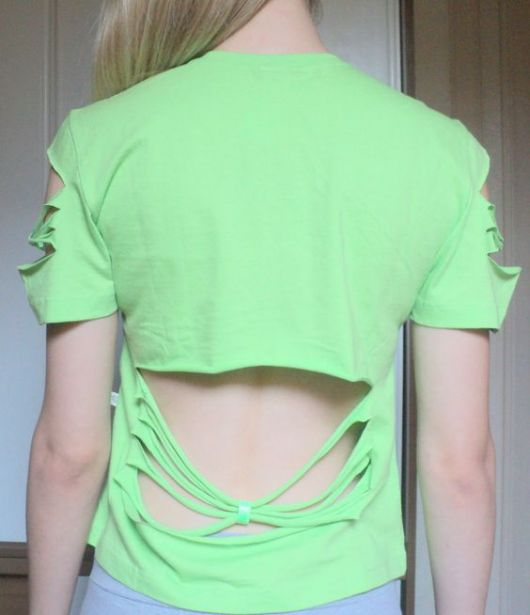 recortes manga e costas