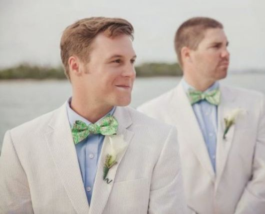 casamento com gravata borboleta