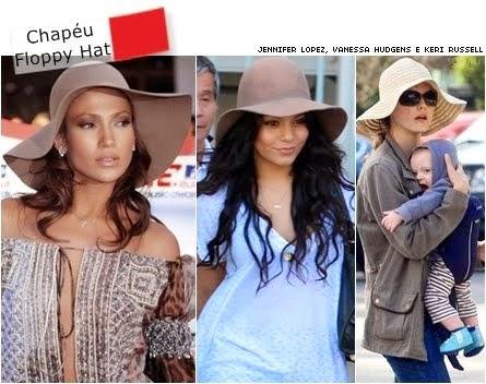 Mulheres famosas usando floppy