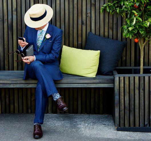 chapeu masculino panama