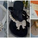 Chinelos decorados: 70 inspirações lindas e tutoriais!