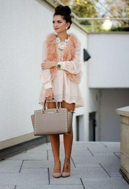 colete rosa