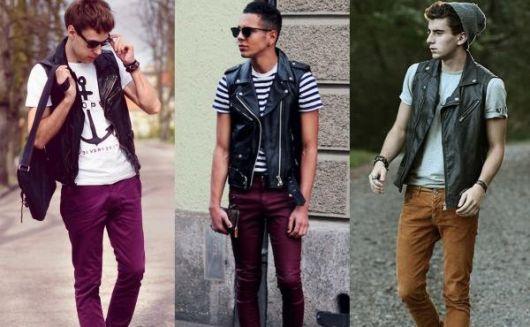 5a8ee94f2a colete masculino estilo alternativo