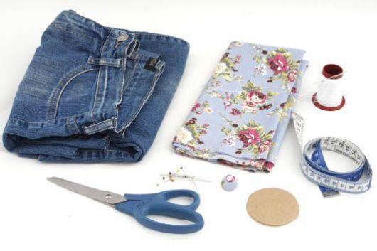 Bolsa Em Tecido Patchwork Feminina Com Alça Para Os Ombros : Bolsa jeans veja como fazer e modelos estilosos