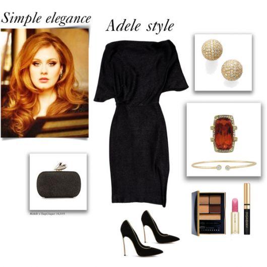 Estilo Adele de se vestir