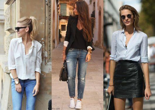 3 looks do estilo básico